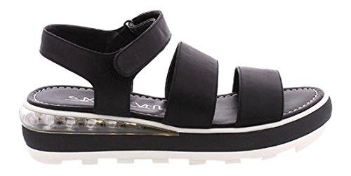 Sixtyseven 78035, Zapatos de vestir Mujer, Pobur negro, 38