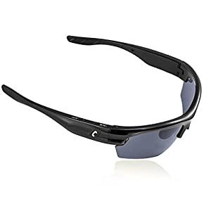 AUGIN Sports Bluetooth Sunglasses with Polarized Lens Smart Touch Wireless Stereo MP3 Music Hand-free Headset Headphones for Men Women Cycling Riding Running