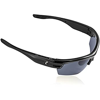 AUGIN Sports Bluetooth Sunglasses with Polarized Lens Smart Touch Wireless Stereo MP3 Music Hand-free