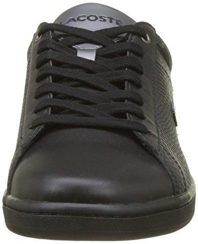 Evo Carnaby Lacoste blk Sneaker Uomo Nero wT58dnxq6R