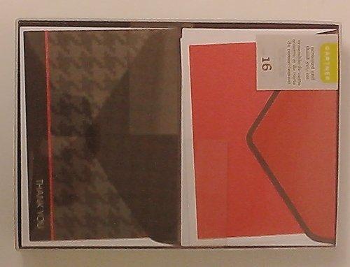 Boxed Note card/Thank You Set: Black & Red by Gartner Stuidos [並行輸入品]   B01AKZ9GKO