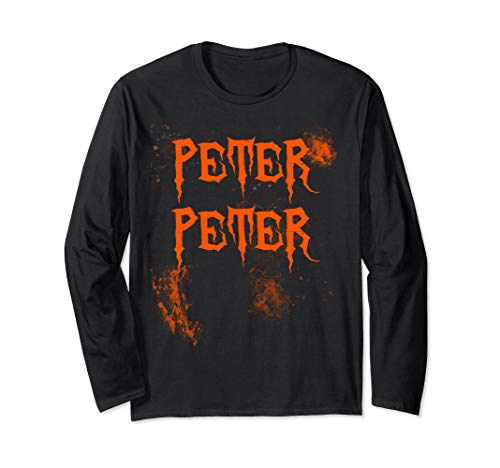 (Peter Peter Couples Halloween Costume Long Sleeve)