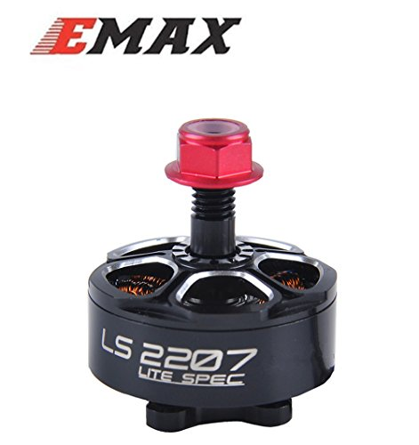 Emax LS2207 2400KV Brushless Motor 3-5S RC Drone Motors for FPV Racing Quadcopter by Crazepony