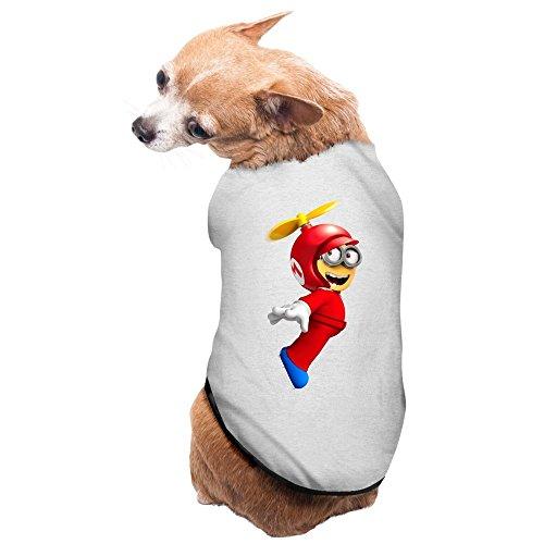 ZULA Latest Super Mario Bros Cartoon Pet Dog Pets Costumes Gray Size M for $<!---->