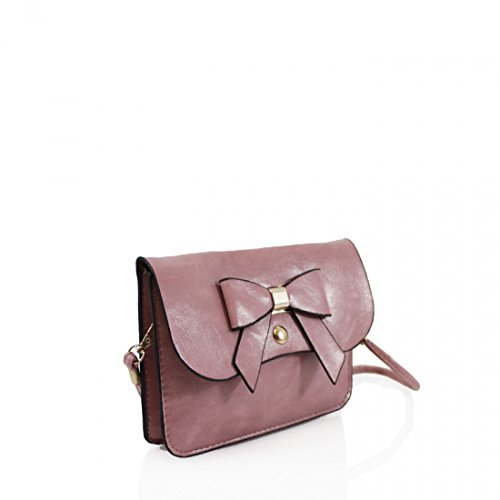 Girls New body Womens Bow Messenger Khaki Cross for Designed Craze London bag Small bag Womens Mini qTA4wtHx