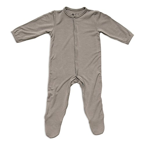- KYTE BABY Solid Footies (6-12 Months, Clay)