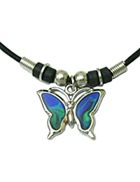 Tapp Collections™ Mood Pendant Necklace - Butterfly