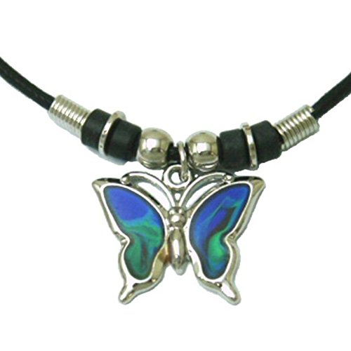 Tapp Collections trade; Mood Pendant Necklace - Butterfly -