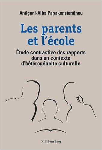 En ligne téléchargement gratuit Les parents et l'école pdf