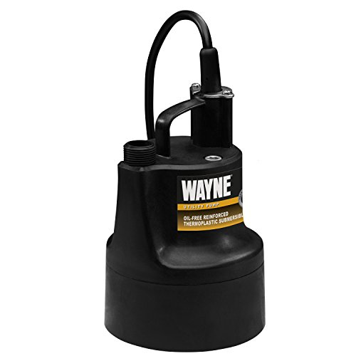 WAYNE GFU110 Portable, Light Duty, Electric Water Removal Pump ()
