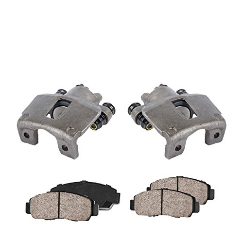 COEK00089 [2] REAR Premium Loaded OE Caliper Assembly Set + Quiet Low Dust Ceramic Brake - F150 Ford Brake Caliper