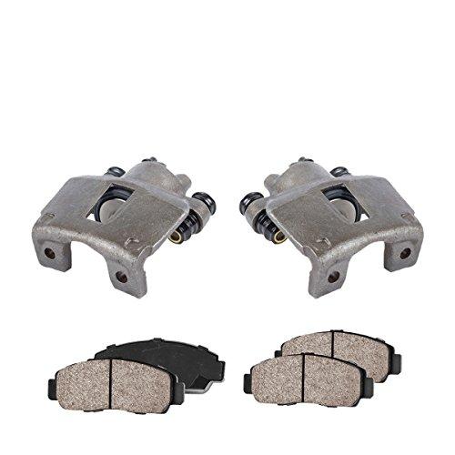 - COEK00089 [2] REAR Premium Loaded OE Caliper Assembly Set + Quiet Low Dust Ceramic Brake Pads