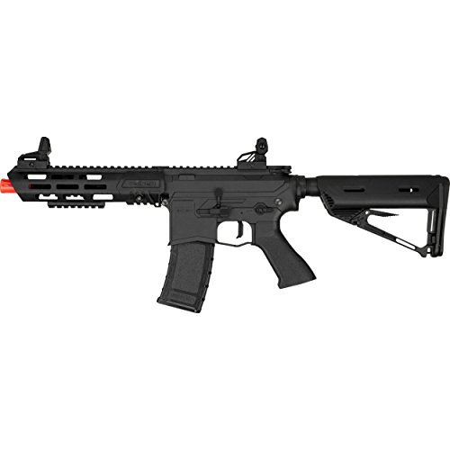Airsoft Series Aeg Rifle - Valken ASL Series M4 Airsoft Rifle AEG 6mm Rifle - KILO - Black