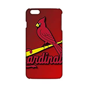 Ultra Thin Candinal red bird 3D Phone Case for iPhone 6 plus