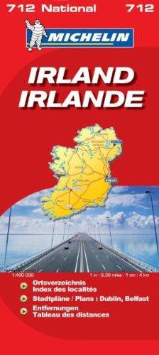 Irland (MICHELIN Nationalkarten)