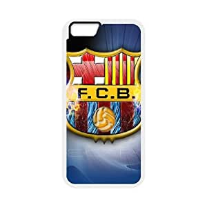 Barcelona Football iPhone 6 Plus 5.5 Inch Cell Phone Case White delicated gift US6932176