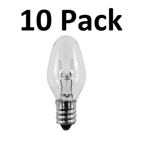 15w 10 (10 Pack Light Bulbs 15W for Scentsy Plug-In Warmer Wax Diffuser 15 Watt 120 Volt)