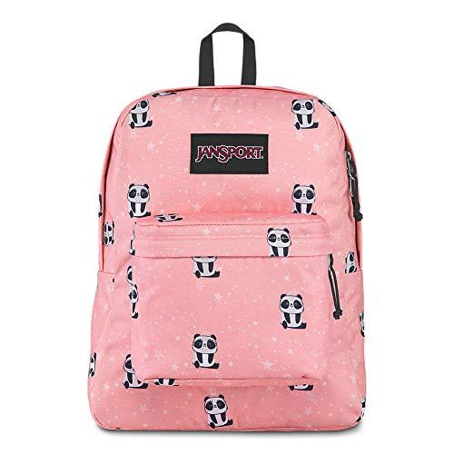 Panda Girl - JanSport Black Label Superbreak Backpack - Lightweight School Bag | Pretty Panda
