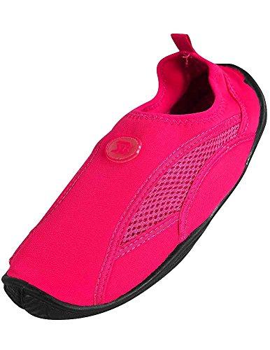 2909 Sock Womens Aqua Shoe Water Fuchsia x7Rwnq4HWw