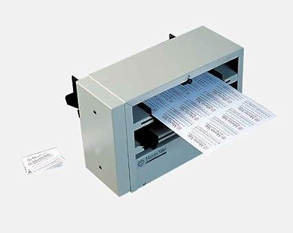 martin yale high capacity business card slitter convert 8 12 x 11 - Business Card Slitter