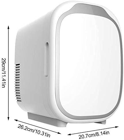 カー用品冷蔵庫ポータブル,軽量省ミュートエネデュアルユース冷却ボックスミニ冷蔵庫のためにベッドルームバー-車載旅行事務所寮アウトドアキャンプ