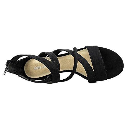 Nine West Hazel Lona Sandalia Gladiador