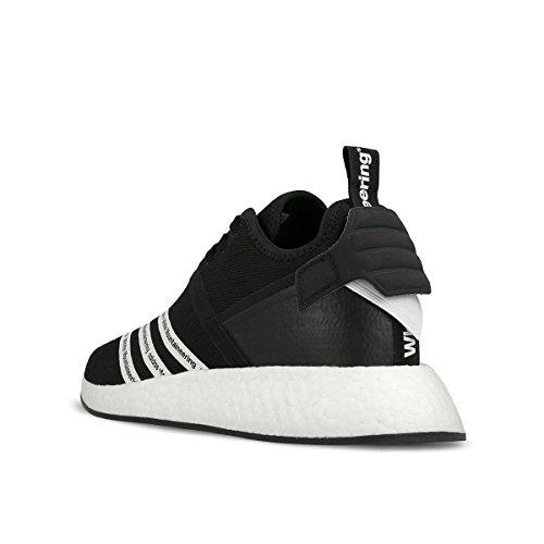Adidas Menns Hvit Fjellklatring Nmd_r2 Pk Svart / Hvitt Bb2978 (størrelse: 11)