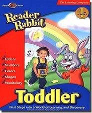 READER RABBIT TODDLER 2 CD -