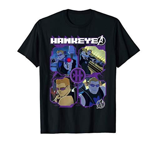 Marvel Hawkeye Avengers Assemble Four Square Tech -