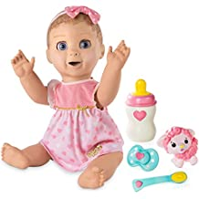 Luvabella Spinmaster Blonde Hair - Responsive Baby Doll with Realistic Expressions and Movement