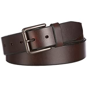 Dockers Men's 1 1/2 In. Leather Bridle Belt