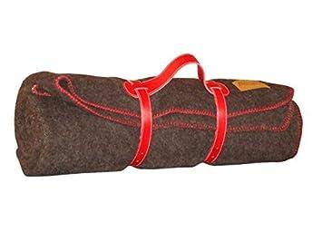 47cb02645145 Midipy cheval plaid 100% laine brun et chocolat 120x180  Amazon.fr ...