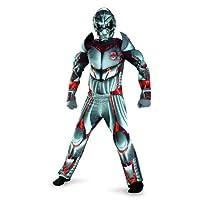 Combate operativo Expedición de reconocimiento Alien Warrior Deluxe Disfraz de niño, 7-8