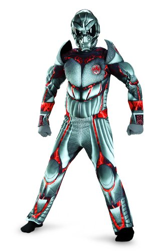 Combat Operative Recon Expedition Alien Warrior Deluxe Boys Costume, 7-8 - Deluxe C O R E Ninja Costumes