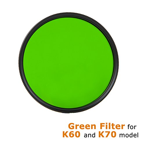 ACEBEAM Tactical Flashlight Filter K60 K70 (Green Filter)