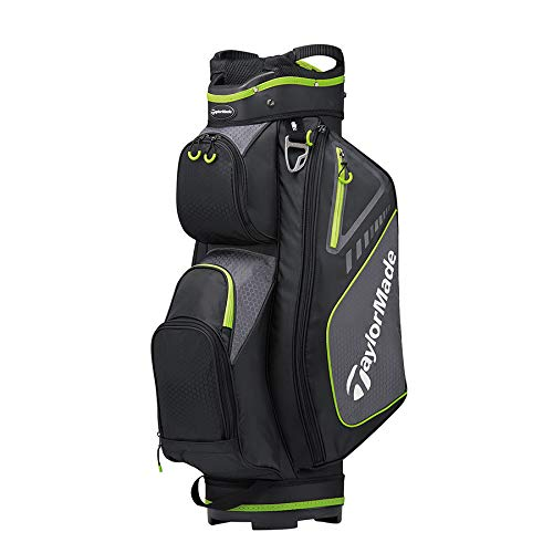 TaylorMade 2019 Golf Select Cart Bag, Black/Green