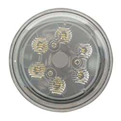 "LED Conversion Headlight Bulb - 18W 4-1/2"" Ro"