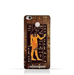 Xiaomi Redmi 3x TPU Silicone Case with Egyptian Hieroglyphs Pattern