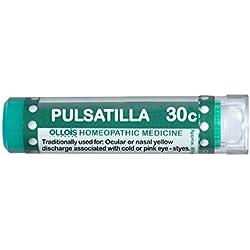 Ollois Lactose Free Homeopathic Medicines, Pulsatilla 30C Pellets, 80 Count