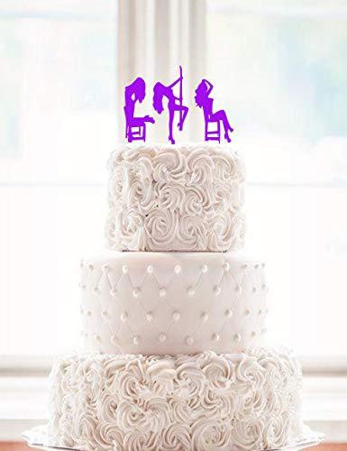 Exotic Dancer Cake Topper Stripper Cake Topper Groom Cake Grooms Cake Bachelor Party Bachelors Party Dancer Topper Stripper Topper New Years