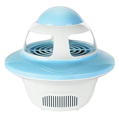 Creative UFO Shape Mosquito Killer Lamp USB Electric Fly Bug Zapper Insect Traps LED Light Trap Lamp Pest Control   bluee, Germany