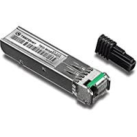 TRENDnet SFP Dual Wavelength Single-Mode LC Module 1550/1310,Version v4.0R, Compatible with Standard SFP Slots, Up to 40 Km (24.9 Miles),TEG-MGBS40D5
