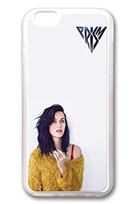 iPhone 6 plus Case, iPhone 6 plus Cases - Fashion Look Clear Rubber Case Bumper for iPhone 6 Katy Perry Prism Album Cover Crystal Clear Soft Case Cover for iPhone 6 plus 5.5 Inches