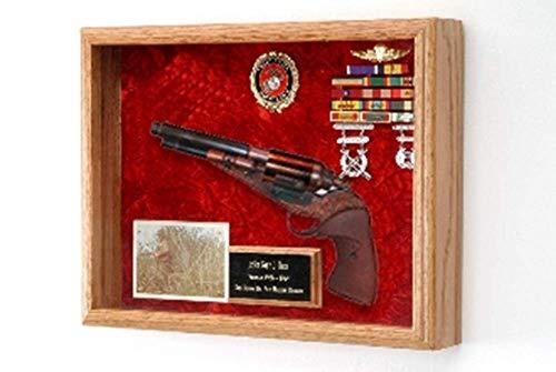 flag connections Revolver Shadow Box, Revolver Display Case