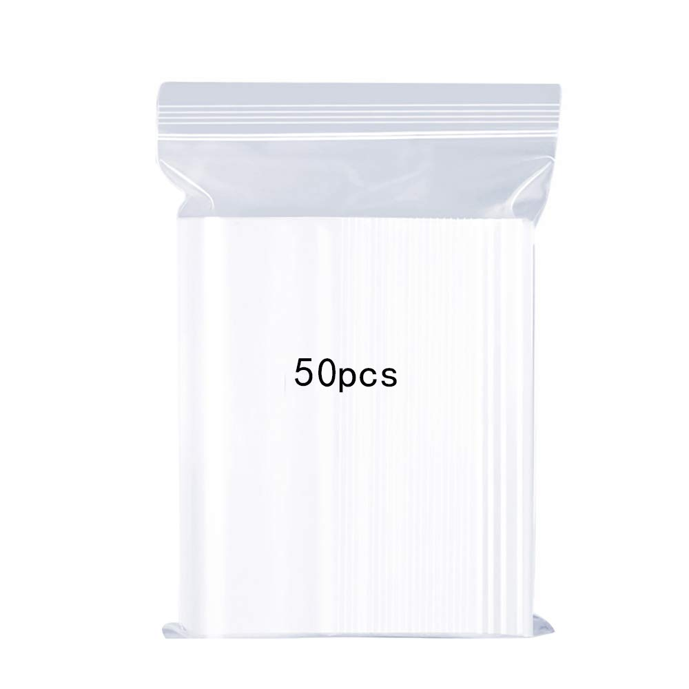 Resealable Clear Plastic Bags,Sealed Storage Pouches,Thickening and Durable,Press Seal Bags,Apply To Kitchen Storage,Jewellery Packaging,Office Stationery Storage Bag 2x2.8 240PCS 5x7cm