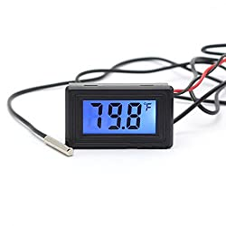 Chunshop Wh5001 Celsius Fahrenheit Digital Thermometer Temperature Meter Gauge C F