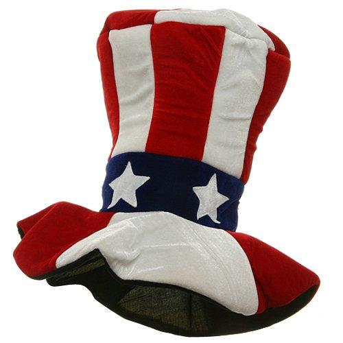 [Velvet Uncle Sam Top Hat] (Velvet Uncle Sam Top Hat)