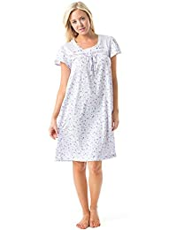 Casual Nights Women's Cap Sleeve Floral Nightgown
