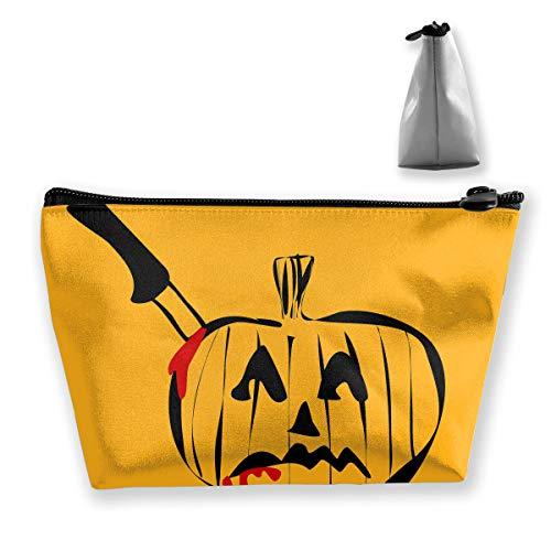Hateone Portable Make-up Bag Halloween Tease Logo Large