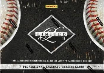2011-panini-limited-baseball-cards-hobby-box-1-pack-box-7-cards-pack-3-autographs-or-memorabilia-car